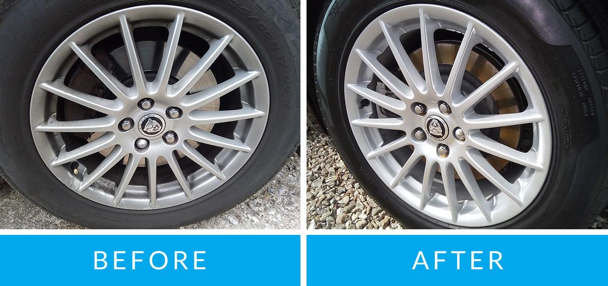 Kerbed alloy wheel repair cost uk